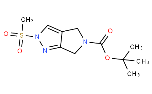82721 - tert-butyl 2-(methylsulfonyl)-4,6-dihydropyrrolo[3,4-c]pyrazole-5(2H)-carboxylate | CAS 1226781-82-3